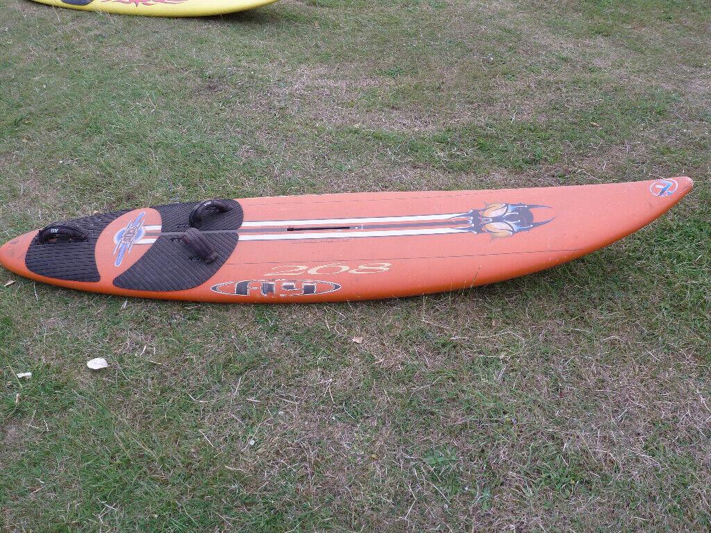 94 litre fanatic windsurf board