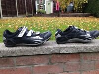 Specialized cycling shoes size 47 and Keo Look pedals & cleats