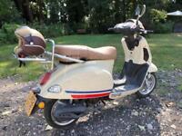 Baotian monza moped
