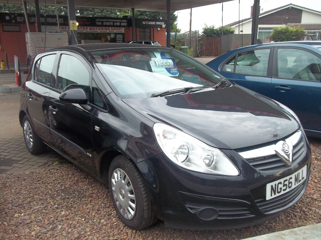 56 PLATE LATE 2006 CORSA LIFE 5 DOOR NEW MOT NO ADVISES NICE CLEAN CAR ONLY £1695