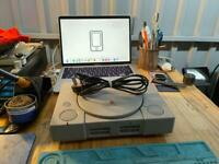 Sony PlayStation Console, Grey (No Controller or AV Lead) - Power Lead Only