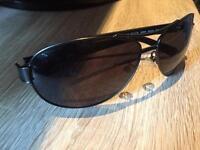 Police Sheer Aviator Mens Grey Sunglasses S8854 0627