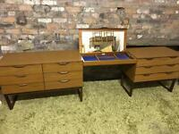 Rare complete set of 'Europa' mid century furniture