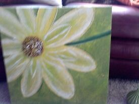 Next oil painting new with tags attached rrp £30 perfect condition