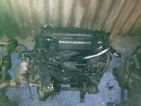 Peugeot 206 207 307 citreon c2 c3 1.4 8v hdi diesel complete engine and gearbox