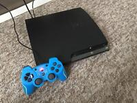 PS3 and Nintendo wii with games .