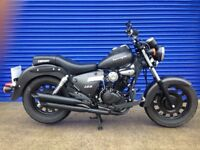 2015 KEEWAY SUPERLIGHT 125 CUSTOM CRUISER , LOW MILES 10 MONTHS MOT