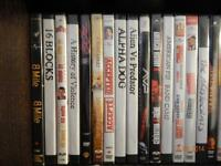 Movies for sale $2 each Part 1