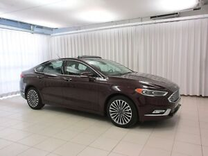 2017 Ford Fusion DEAL! DEAL! DEAL! SE AWD ECOBOOST SEDAN w/ CRUI