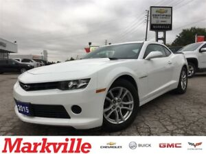 2015 Chevrolet Camaro ONE OWNER - CERTIFIED PRE-OWNED- MANUAL TR