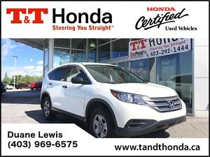 2013 Honda CR-V LX *Backup Cam, No Accidents, Bluetooth