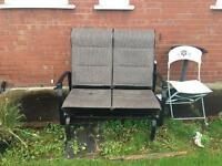 2 Seater Outdoor Swinging Chair