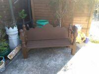 New Bespoke Garden Bench
