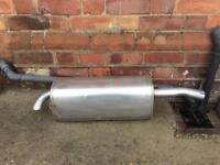 Ford fiesta 1.25 Exhaust back box NEW