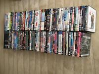 110 Assorted DVD's All to go as a Bundle