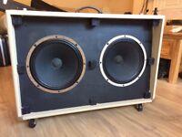 Fender Super-Sonic 60 2x12 Cabinet **UPGRADED CELESTION SPEAKERS!!**