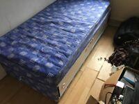 Single bed plus matching mattress