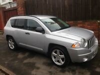 JEEP COMPASS LIMITED CRD, 2007 REG, LONG MOT, FULL HISTORY, HPi CLEAR, TOP SPEC WITH HEATED SEATS