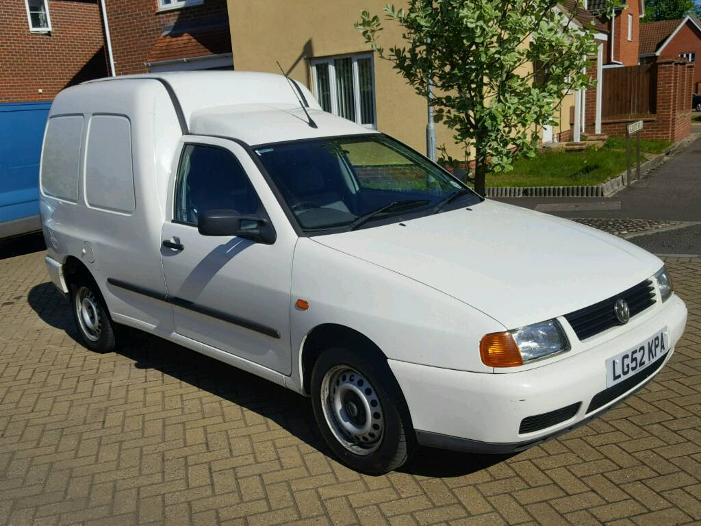 2002 vw caddy 1 9 tdi in norwich norfolk gumtree. Black Bedroom Furniture Sets. Home Design Ideas