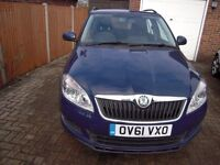 Skoda Fabia 1.6 TDI CR SE Plus 5dr swap for (left hand drive)