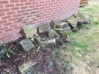 Garden rock/boulders