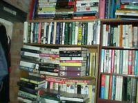 RETIRING BOOK DEALER, ALL BOOKS £! each OR MAKE offer for all 1600 plus 80ooo postcards