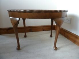Beautiful Pie Crust Edged Occassional Table
