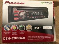 Pioneer DAB car radio
