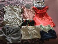 Girls bundle size 5-6yrs 8 items