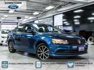 2015 Volkswagen Jetta Comfortline, Moonroof, Car Proof Verified