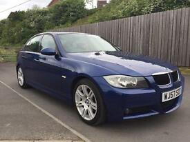 BMW 320D M SPORT 2007(57) +1 LADY OWNER+ not 318 325 330 c220 c250 520 525