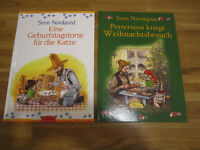 2 GERMAN Picture Books, Petterson & Findus