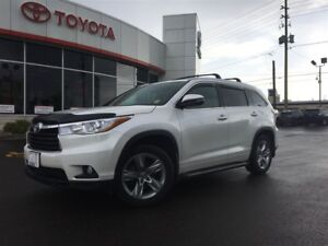 2016 Toyota Highlander LIMITED AWD, NAV, LEATHER, PANOROOF, BACK