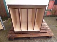 Slatted Storage Unit Delivery Available £8