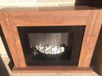 Next Electric Fireplace (Walnut)