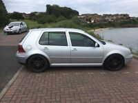 2002 Volkswagon Golf Gt Tdi 5 door manual. Coil overs 18inch alloys Stainless exhaust. 12 months mot