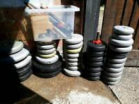 Weights and dumbbells
