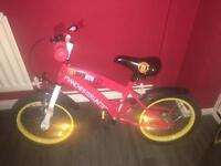 MAN UTD child bike