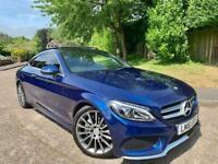 2016 Mercedes Benz C Class Coupe C220 D AMG Line Premium Plus Auto !!