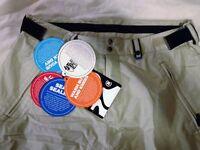 Bonfire xxl ripstop 20,000mm lightweight snowboard pants new tagged