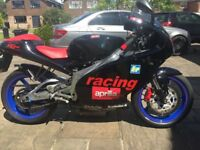 Aprilia RS Extrema R 125 Limited Edition Bike. Like New 12 Months M.o.t. Fully Serviced & Race Tuned