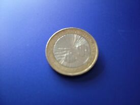 £2.00 Florence Nightingale Coin Misprint