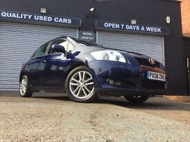 TOYOTA AURIS 1.6 PETROL 2009 58 PLATE *full toyota service history*
