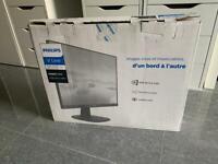 "Brand new Phillips 243V7Q 24"" FULL HD IPS monitor display BOXED"