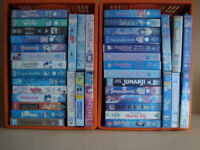 99 VHS Children's Movies - Collection Only