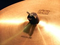 PAISTE 2002 CYMBALS AND ZILDJIAN SPECIAL SELECT A-AVEDIS HI HAT CYMBALS. AS A LOT OR SEPARATELY.