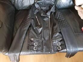 Ladys leather jacket