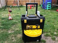 Stanley double tool box on wheels