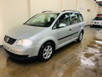Vw touran 1.9 tdi s in immaculate condition 7 seater long 2 owners
