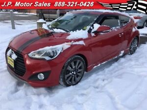 2015 Hyundai Veloster Turbo, Automatic, Leather, Sunroof